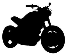 Motorcycle Silhouette 3